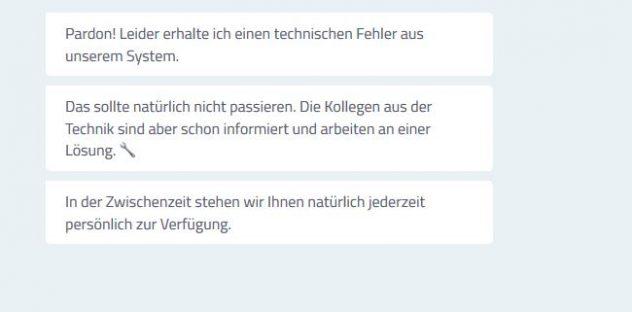 Hannoversche Direktversicherung Fehler 2