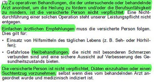 Arztanordnungsklausel-Nürnberger-Berufsunfähigkeitsversicherung-10
