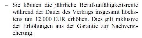 Nachversicherungsgarantie Alte Leipziger