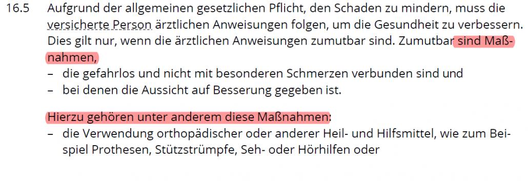 Arztanordnungsklausel Die Dortmunder Plan D