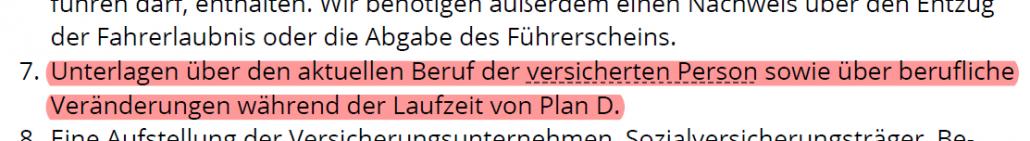 Leistungsantrag Plan D Die Dortmunder