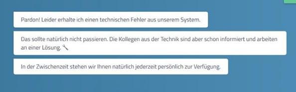 Hannoversche Direktversicherung Fehler